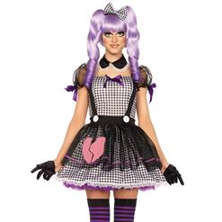 Women's Maid Costume, Cheap Maid Costume, Sexy Maid Dress, Dolly Costume, Babydoll Costume, #N11366