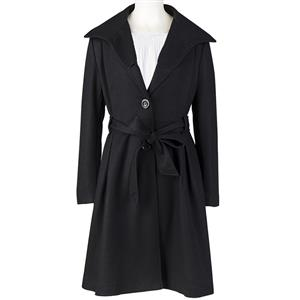Women's Long Trench Coat, Women's wind coat, Winter Coats for Women, Trench Coats for Women, #N12178