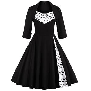 Retro Dresses for Women 1960, Vintage Dresses 1950's, Vintage Dress for Women, Sexy Dresses for Women Cocktail Party, Casual tea dress, Swing Dress, #N12286