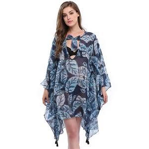 Chiffon Cover Up Beachwear, Swim Wraps, Swimsuit Cover Up, #N12612
