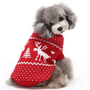 Pet Sweater, Pet Clothing for Small Dog, Dog Christmas Costume, #N12275