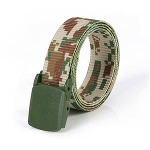Camouflage Soldier Wasit Belt, Fashion Durable Camouflage Nylon Waist Belt, Men's Fashion Camouflage Sports Wasit Belt Accessory, Nylon Outdoor Sports Waist Belt for Men, Elastic Waistband, Strong Nylon Waist Blet, High Quality Waist Belt, #N20153