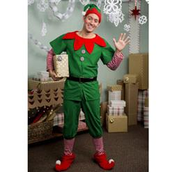 Father Elf Family Look Christmas Costume, Family Christmas Costume, Christmas Family Look Costume, Christmas Costume for Men, Deluxe Christmas Costume, Christmas Party Costume for Men, #XT20046