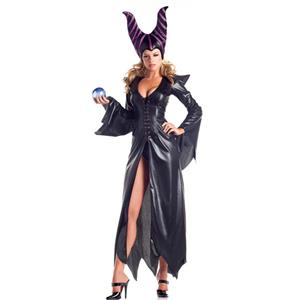 Maleficent Costumes for Halloween, Maleficent Disney Movie Character Costumes, Wicked Maleficent Witch Halloween Costume, #N11181