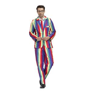 Men's Funny Film Costume, Film Cosplay Costume, Men's Print Suit Costume, Role-palying Costume, Print Personalized Party Suit , Halloween Men Costume,Adult Cosplay Costume, #N20489