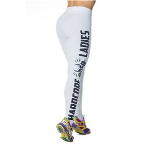 Fashion White Leggings for Yoga Running Workout Exercise L12733