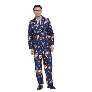 Men's Funny Film Costume, Film Cosplay Costume, Men's Print Suit Costume, Role-palying Costume, Print Personalized Party Suit , Halloween Men Costume,Adult Cosplay Costume, #N20487