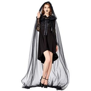 Sexy Gothic Vampire Bride Costume, Ghost Bride Role Play Costume, Classical Adult Ghost Bride Halloween Costume, Deluxe Ghost Bride Dress Costume, Vampire Bride Masquerade Costume, Gothic Vampire Bride Adult Cosplay Costume, #N19445