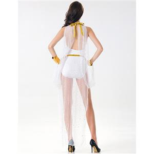 White Greek Goddess of Beauty Adult Cosplay Costume N17118