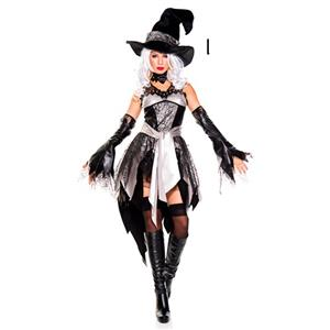 Halloween Costumes, Witch Halloween Costume wholesale, Sexy Witch Costume, Adult Costume, #N12898