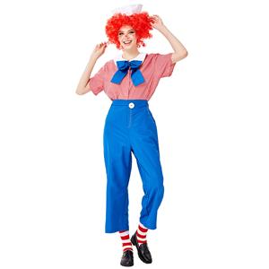 Men's Funny Circus Clown, Women's Clown Costume, Clown Cosplay Costume, Clown Costume Women, Happy Clown Costume, Halloween Clown Costume, Circus Clown Performance Role Play, #N19450