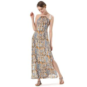 Sexy Summer Beach Dresses, Women's Cocktail Party Dress, Sexy Hippe Maxi Evening Dresses, Loose Waist Cocktail Party Dress, Ceremony Long Dress, Sexy Beachwear Long Dress, #N18767