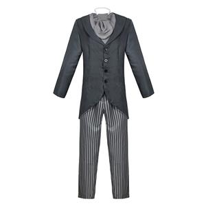 Men's Horror Film Costume, Film Cosplay Costume, Hero Victor Suit Costume, Role-palying Costume, Horror Personalized Party Suit , Corpse Bride Halloween Costume,Adult Cosplay Costume, #N20498