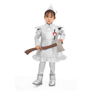 Kids Robot Costume, Halloween Costume Boys, Wizard of Oz Film Tinman Cosplay Costume, Classical Tin Man Role Play Costumes, Kid's Cosplay Set, #N19077