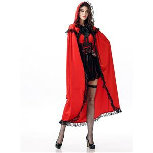 Deluxe Adult Little Red Riding Hood Costume N12006