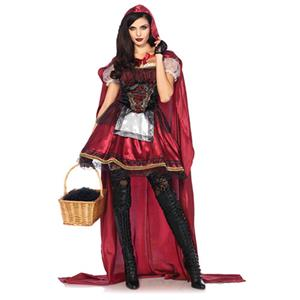 Little Red Costume, Sexy Red Riding Hood Costume, Little Red Riding Hood Costume, #N12895