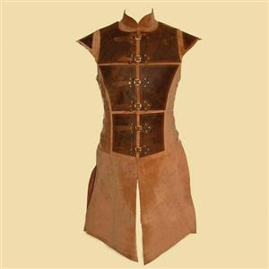 Steampunk Tunic for Men, Men's Medieval Knight PU Armour, Sexy Clubwear for Men, Halloween Costumes, Men's Sexy Costume, Men's Corset, Sexy Club Wear for Men, #N19969