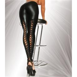 Sexy PVC Legging, Women's PVC Trouser, Hot Sell Leather Pants,  #N12460