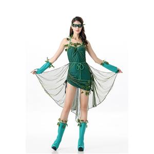 Sexy Halloween Costume, Cheap Women's Costume, Posion Ivy Costume , #N11683