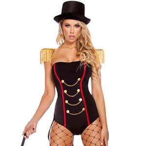 Sexy Majorette Costume, Women's Halloween Costume, Hot Sale Leader Costume, Honor Guard Costume, #N11908
