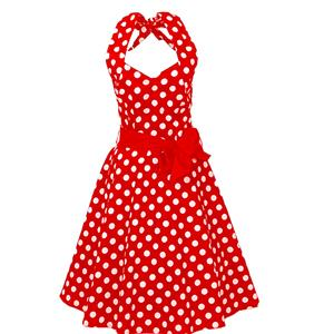 Retro Dresses for Women 1960, Vintage Dresses 1950's, Vintage Dress for Women, Valentine's Day Dress, Polka Dot Dress, #N11924