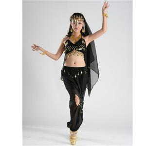 Sexy Genie Costume, Lamp Fancy Dress Costume, Women's Genie Halloween Costume,Sexy Belly Dance Costume, Sexy Pewrsia Dancer Costume, #N18890