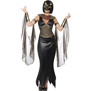 Sexy Animal Costume,Sexy Cat Costume, Egyptian Costume, Halloween Costume, Fancy Dress, Halloween Costume, Goddess Costume, #N11692