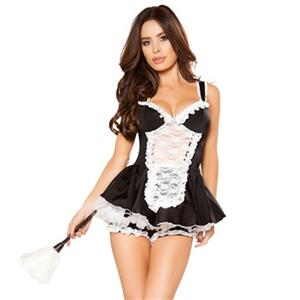 Traditional House Maid Costume, French Maide Costume, Maiden Cosplay Costume, Sexy French Maid Costume, Halloween Maid Cosplay Adult Costume, Adult Anime French Maid Costume, #N18353