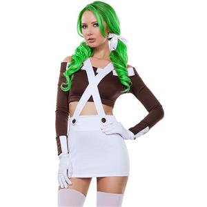Cartoon Character Costumes, Sexy Halloween Costume, Cheap High Waisted Costume, Cosplay Costume for Women's, #N11061