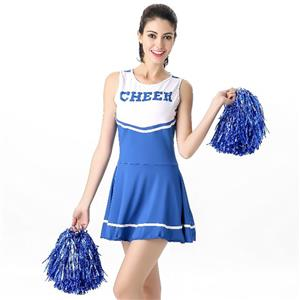 Sideline Spirit Costume, Sexy Cheerleader Costume, High School Cheerleader Costume, #N12604