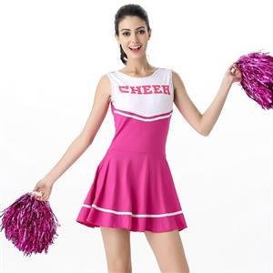 Sideline Spirit Costume, Sexy Cheerleader Costume, High School Cheerleader Costume, #N12607