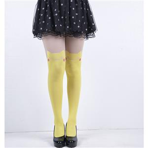 Women's sexy Tights, Sexy Mesh Pantyhose, Pikachu Patterned Pantyhose, #HG12577