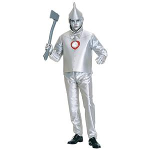 Robot Costume, Halloween Costume Male, Wizard of Oz Film Tinman Cosplay Costume, Classical Tin Man Role Play Costumes, Men's Cosplay Set, #N19075