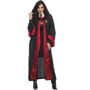 Unisex Wizard Magic Robe Halloween Adult Costume N18198