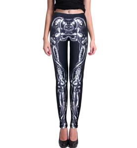 Halloween Leggings, Cheap Leggings, Fashion Black Leggings, Womens Leggings, Casual Leggings, Printed Leggings, #L11008