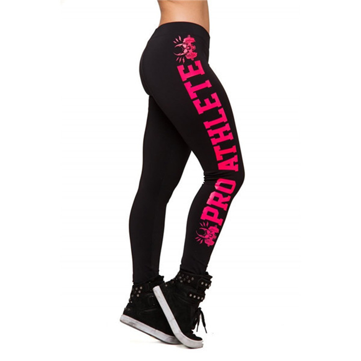 Fashion Black Leggings for Yoga Running Workout Exercise L12730