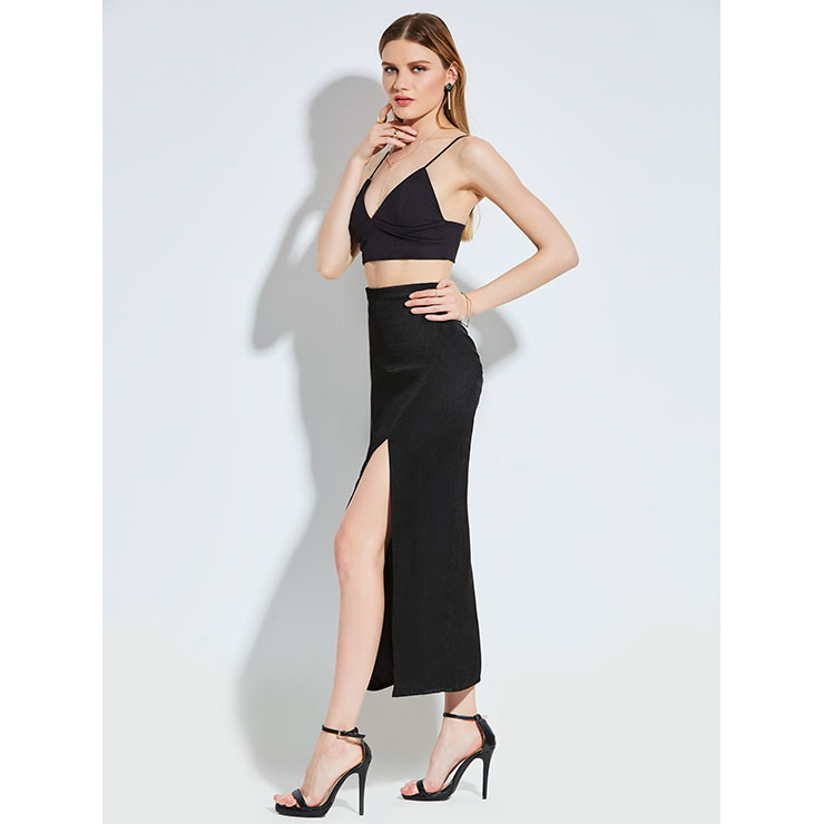 High waisted skirt fashion