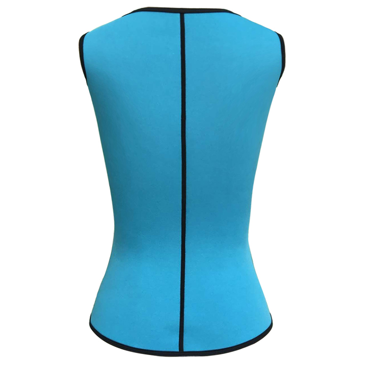Fashion Latex Waist Training Vest Corset with Girdles for Sport Gym N12627