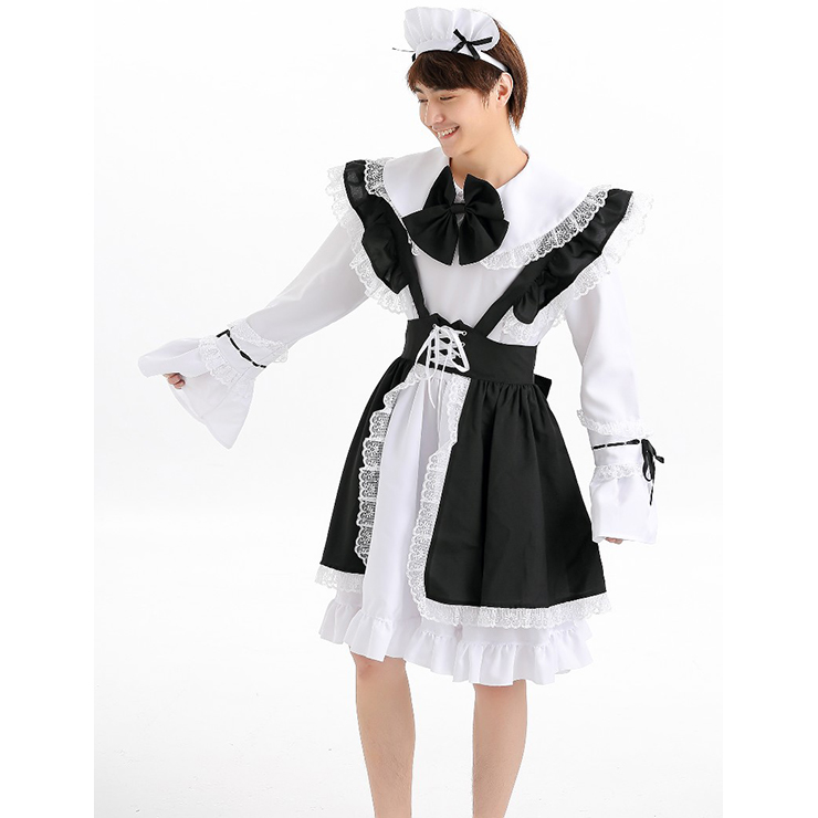Women's French Maid Costume N12004