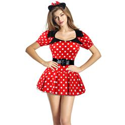 Sexy Adult Fairy Tale Costumes, Playful Mouse Costume, Naughty Mouse Costume, #CP8007