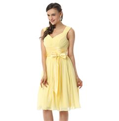 Hot Selling Yellow Dresses, Girls Prom Dresses, Cheap Graduation Dress, Fashion Party Dresses. #F30080