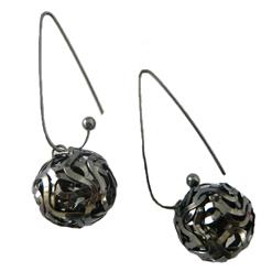 Hollow Round Ball Cute Earring, Round Ball Cute Earring, Sexy Jewelry, #J7012