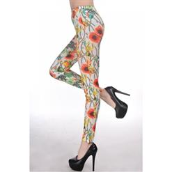 Rose and Jewelries Tattoo Leggings L6989