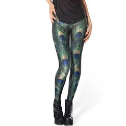 Peacock Leggings L8166