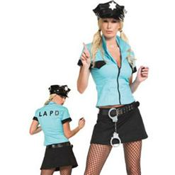 Sexy Police Woman Costumes, Sexy Cop Halloween Costumes, Sexy Police Costumes, #M1609