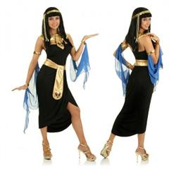 Egyptian Cleopatra Costume, Nile Adult Costume, Cleopatra Queen Costume, #M1702