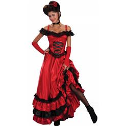 Spanish Seduction Costume, Spanish Dancer Costume, Deluxe Spicy Senorita Costume, #M2143
