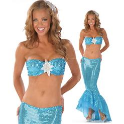 Sexy Sailor Costume, Sexy Mermaid Costumes, Sailor Costumes Women, Adult Mermaid Costume, #M2260