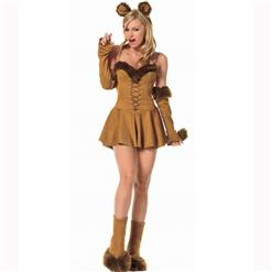 Cuddly Lion Costume, Animal Costumes, sexy cat Costume, #M2885