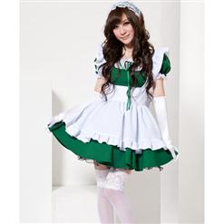 Dusty Bunny Beauty Costume, Maid Costume, Sexy Maid Halloween Costume, #M5491